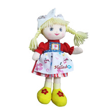 Wholesale baby plush toy girl doll