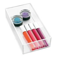 Clarity Clear Acrylic Cosmetic Makeup Jewelry Drawer Organizer for Vanity Cabinet to Hold Makeup