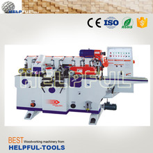 Helpful Brand Shandong Weihai HJ4012F/HJ4016F four side planer moulder (4-spindles) wood spindle moulder machine wood moulder