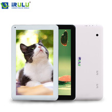 "iRULU 10.1 "" Tablet PC Android 5.1 Allwinner A33 Quad Core 1.3GHz with Bluetooth 1GB RAM+16GB ROM Bluetooth External 3G WIFI Hot"