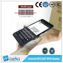 7inch mobile barcode scanner module USB RFID Reader Module for RFID Cable Tags for Asset Tracking Management