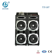 Double 10 inch professional active stage karaoke speaker rcf line array speaker