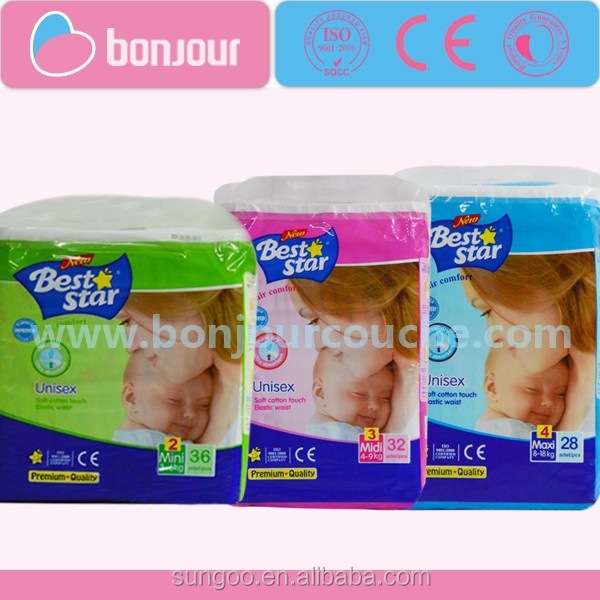 Best Star Adult baby women diapers factory in China