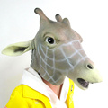 different style whole face natural latex animal mask
