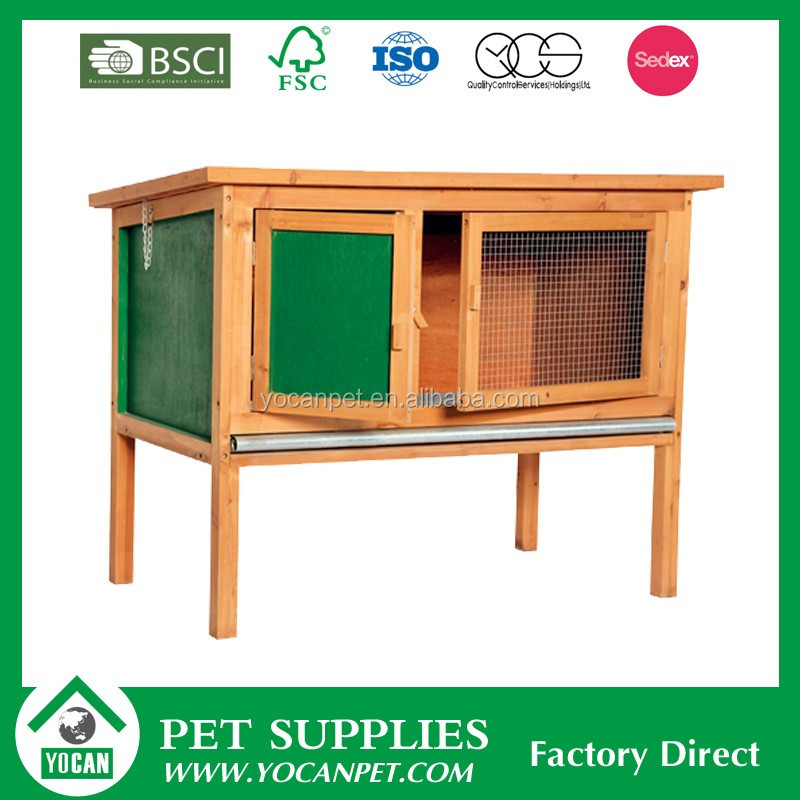 best selling wooden rabbit hutch china