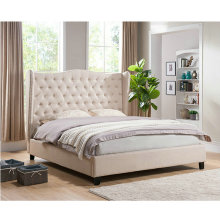 China Supplier Wholesale Modern style cheap upholstered beds for sale