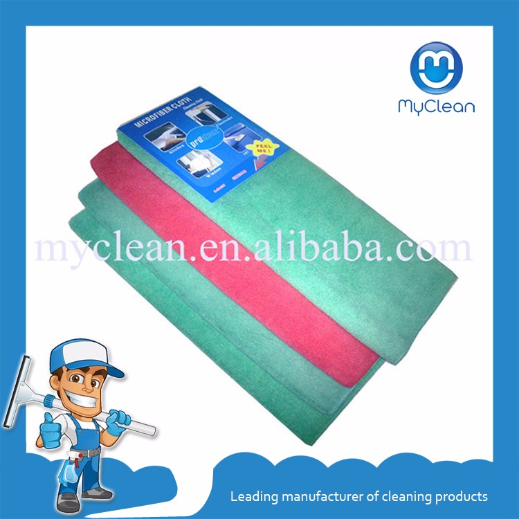 cheap custom logo microfiber clean towel , car clean microfiber cloth