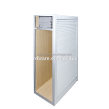 Alibaba Kitchen Vertical Aluminum Cabinet Tambour Door
