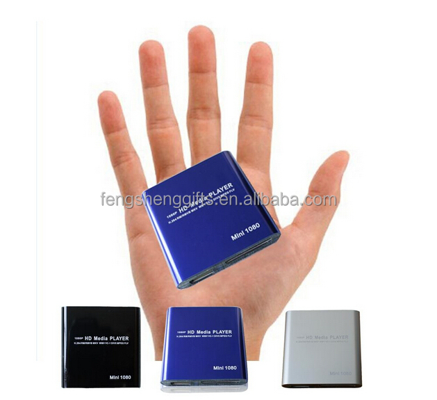 Portable Mini Advertising Player Sexy Video Media Player Support SD Card USB Disk 1080P Full HD Media Player