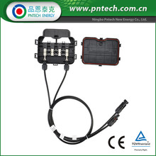 Insulation Piercing Connector Solar Panel Junction Box Ip67 With Mc4 Connector