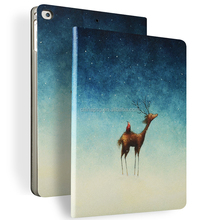 Color Painting Premium Pu Leather Smart Case for Ipad Air Cover for Ipad Air1 2 with Multicolor and Design
