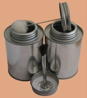 PVC Cements tin cans,aerosol cans