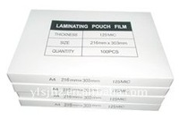 A4 paper size 125MIC PET and EVA Laminating Film