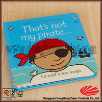 Hardcover & Softcover Cardboard Book Printing For Children ON SALE
