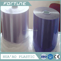 pvc rigid film in roll or sheet transparent for packaging