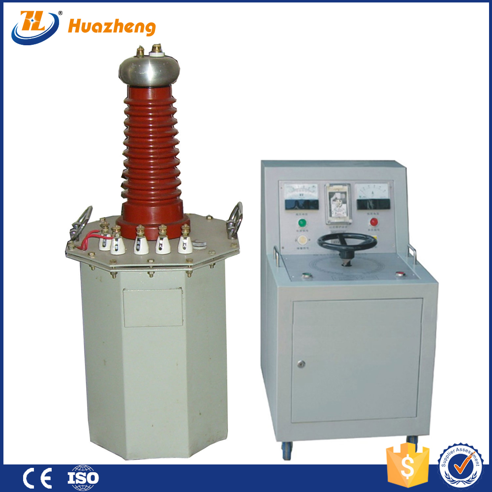 auto transformer machine AC and DC High Voltage testing Transformer with low price