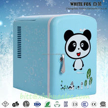 Fashion dc 12v car portable freezer refrigerator mini electric cooler 5l for travel