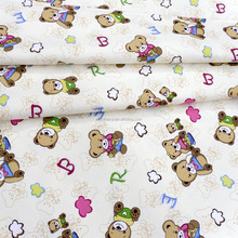100% Cotton Brushed Twill/Drill printing children beddings sheet cartoon quilted sateen fabric