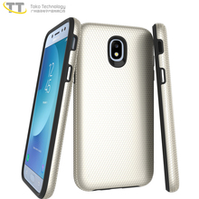 High quality double color tpu + pc slim armor mobile phone case cover for samsung j7 j7plus,j7/j7 phone case