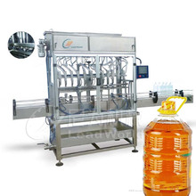 2017 new design Automatic bottle edible olive oil filling capping machine