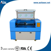mini taiwan parts fabric bias and layer laser cutting machine for garment