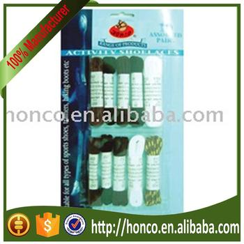 Hot Selling Polyester Shoe Lace manufacturer