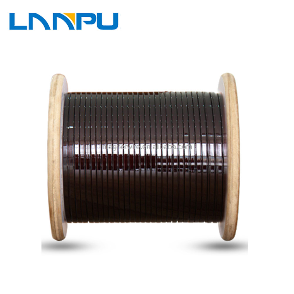 Best Price LP Magnetic Enameled Rectangle Aluminum Wire