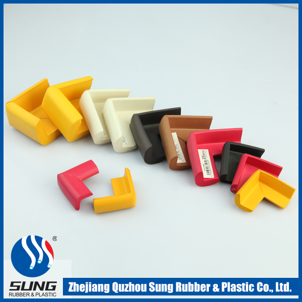 Colorful rubber surface protectors