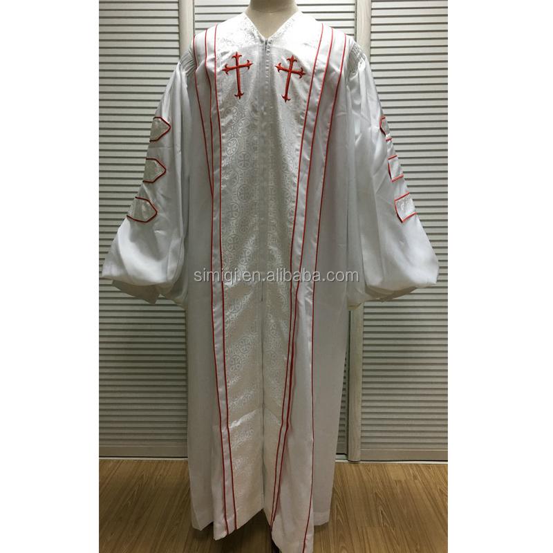 Custom Design Wholesale Clergy Bishop Doctoral Clergy Robes - Buy ...