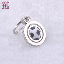 Top sale Guangzhou stylish zinc alloy football key chain/buckel/keychain