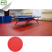 YIMEI pvc sport flooring for table tennis court/vinyl floor