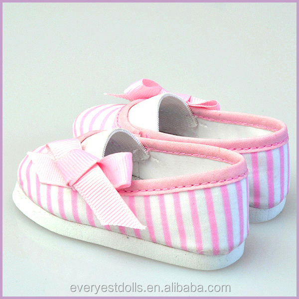 Popular canvas shoes/ baby doll shoes/ doll shoes wholesale