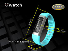 2014 bluetooth smart bracelet watch bluetooth watch with bluetooth (U9) women's fashion watch