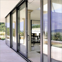China very good supplier entry door glass kitwith glass with professional engineers team DS-LP1977