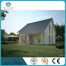 villa architectural design accommodation prefab modular fiber cement villa for africa