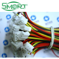 Smart Bes ! H2.0 electronic wire single rubber plug the other end of tin 20 cm 2/3/4 / 5/ 6/ 7 /8p-12 p