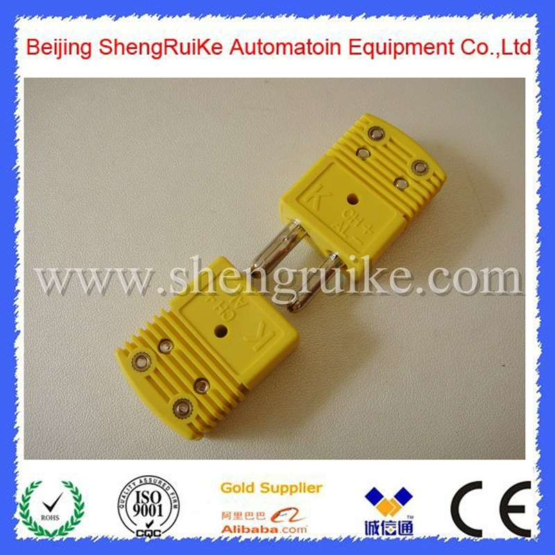 High quality raw materials K type Thermocouple Plug