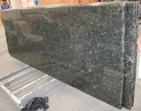 mint green granite slab with different sizes on sale/ chinese green butterfly granite slabs