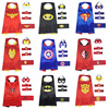 Kids Wholesale Superhero Capes With Mask