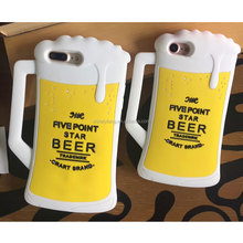 New Arrival Coffee beer Back Phone Case Cover for Apple iphone 5/SE/6s+/7/8/8X