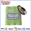 dry rechargeable aa 12v 2000mah battery
