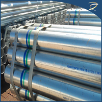 Hot sale precision steel tube galvanized steel water pipe size