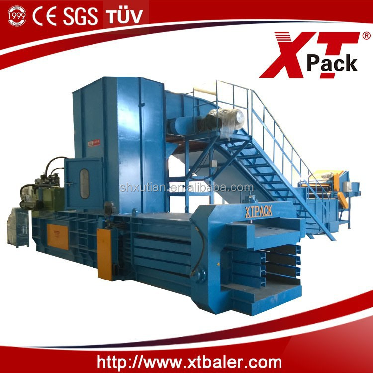 Automatic Plastic Film Baling Press