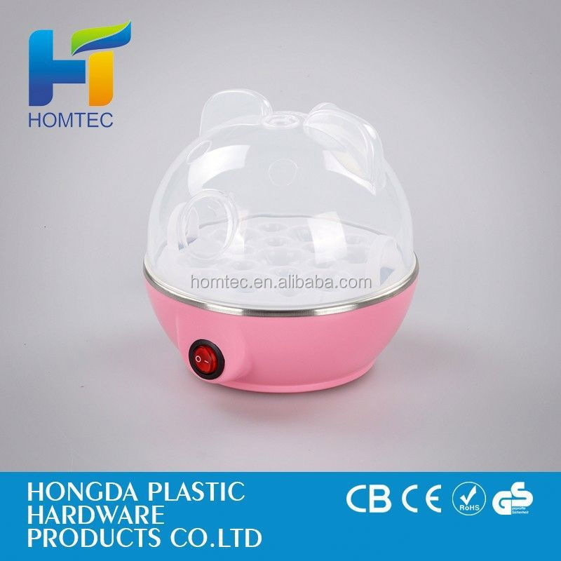 hot sale residential chicken steamer 7 holes electric egg boiler