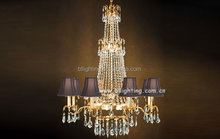 Arabic style 8 light chandelier crystal contemporary