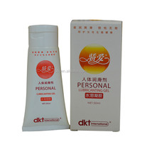 private label personal lubricant water based or silicone based sex lubricant