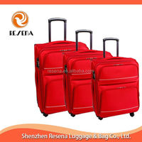 Soft Side Trolley Cases EVA Luggage Suitcase