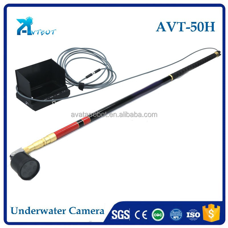 Hand held China offer shrimp monitoring underwater fish finder video camera