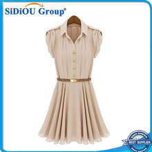 2014 fashion summer short new model casual dress