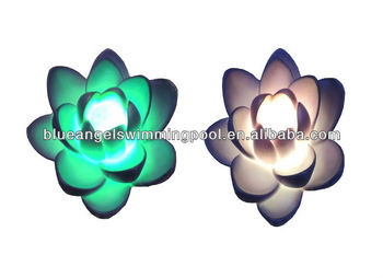 PVC FLOATING POOL LIGHT&LED FLOWER LIGHT